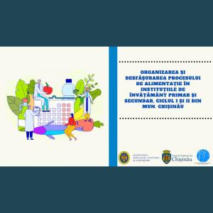 Organizarea și desfășurarea procesului de alimentație în instituțiile de învățământ primar și secundar, ciclul I și II din mun. Chișinău