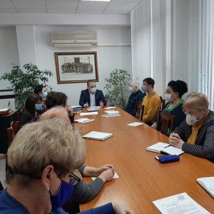 Ședința de lucru cu directorii instituțiilor de învățământ primar și secundar general din subordinea DETS sec. Ciocana